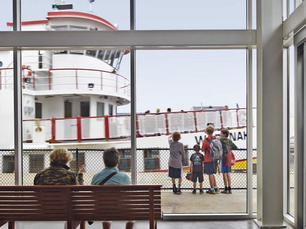 Awaiting the next ferry