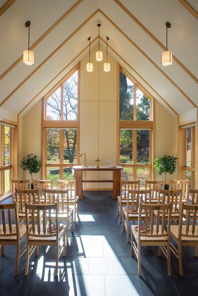 New Chapel in the Parish Hall