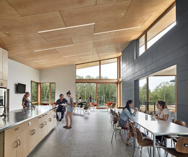 Common Kitchen and Dining Space at Shimmield Hall