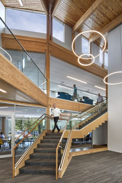 Patrons Oxford offices open stair