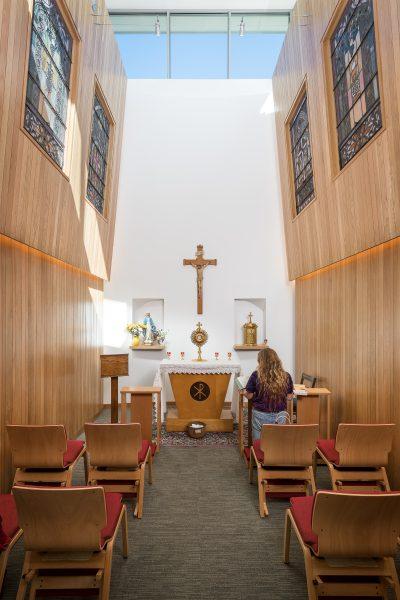 chapel interior view