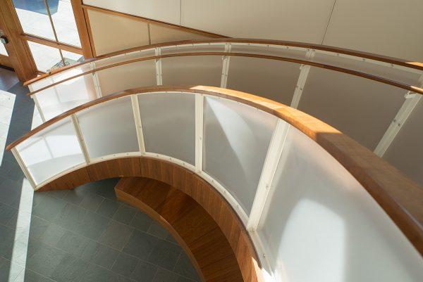Turner Library custom stair