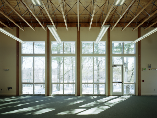 WIndows in a multipurpose room